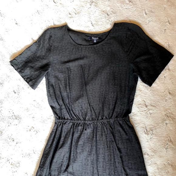 Madewell Dresses & Skirts - MADEWELL short sleeve cinch waist dress, size S